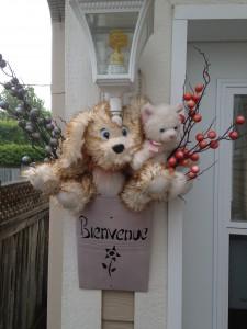 Toutou chien et toutou chat vous accueillent !