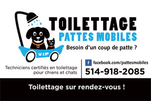 Contacter Toilettage Pattes MOBILES